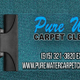 Pure Water Carpet Cleaners by The Good Water Guy logo