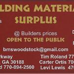 Building Material Surplus at Woodstock profile image.