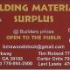 Building Material Surplus at Woodstock logo