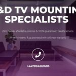 G&D Tv Mounting Specialists Ltd profile image.