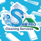 Sam Pro Cleaning Services logo