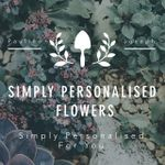 Simply Personalised Flowers profile image.