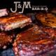 J&M BBQ logo