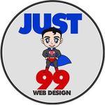 Just 99 Web Design profile image.