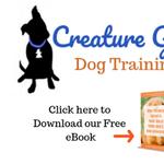 Creature Good Dog Training profile image.