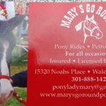 Mary's Go Round Pony Rides and Petting Zoo profile image.