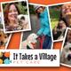 It Takes a Village Pet Care logo