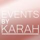 Events by Karah logo