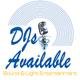 D Js Available Sound & Light logo