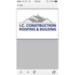I.C Construction Roofing profile image.