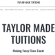 Taylor Made Tuitions logo