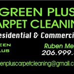 Green Plus Carpet Cleaning profile image.