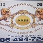 Phenomenal Protective Security Services  profile image.