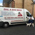 Dial a Dog Wash Lanarkshire logo
