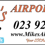 Mikes Airport Cars profile image.