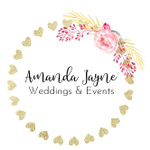 Amanda Jayne Weddings & Events profile image.