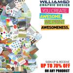 William's Graphic Design INC profile image.