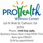Pro Health Wellness Center profile image.