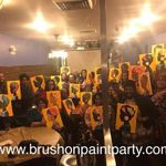Brush on Paint Party profile image.