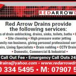 Red arrow drains  profile image.