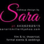 Makeup Design by Sara profile image.
