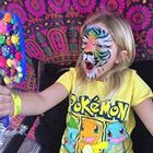 Colorful Day Face Painting