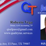 Quality Tax Services & Bookkeeping profile image.