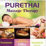 PURETHAI MASSAGE THERAPY profile image.
