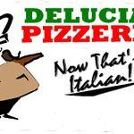 DeLucias Pizzeria profile image.
