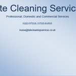 Tate Cleaning Services profile image.