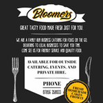 Bloomers Snack Bar profile image.