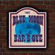 Blue Moon BBQ of Lebanon logo