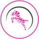 Pink Zebra Physiotherapy and Acupuncture logo