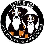 Tazzy and Boo Pet Foods & Grooming profile image.