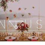 NVUS Weddings + Events profile image.