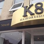 K8 Barbers & hairdressing profile image.