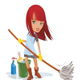 Housecleaning Dina logo