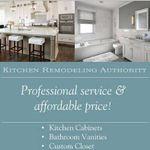 Kitchen Remodeling Authority profile image.