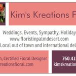Kim's Kreations Floral profile image.