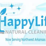 Happy Life Natural Cleaning profile image.