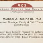 Rubino Counseling Services profile image.
