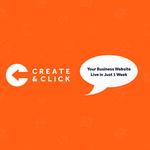 Create and Click profile image.