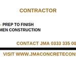J M A Concrete Construction profile image.