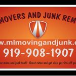 M&L Moving and Junk Removal profile image.