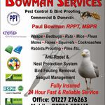 Bowman PestControl profile image.