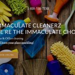 Immaculate Cleanerz profile image.