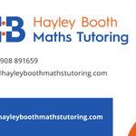 Hayley Booth Maths Tutoring profile image.