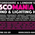 Disco Mania dj Hire  profile image.