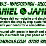 Daniel James Removals profile image.