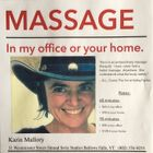 Karin Mallory, Certified Massage Therapist